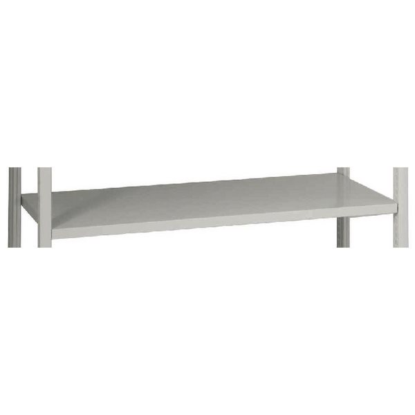 Bisley W1000xD460mm Grey Shelving Shelf