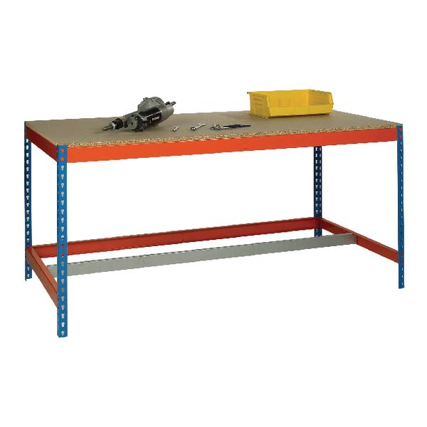 Blue/Orange L1800xW750xD900mm Workbench