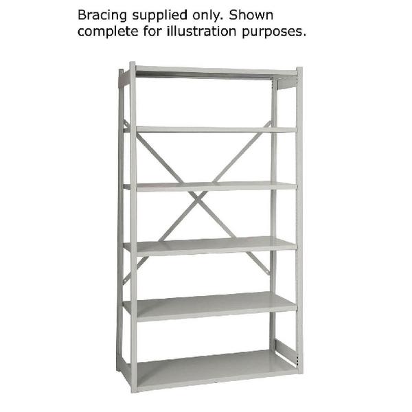Bisley Shelving Bracing Kit W1000mm Grey