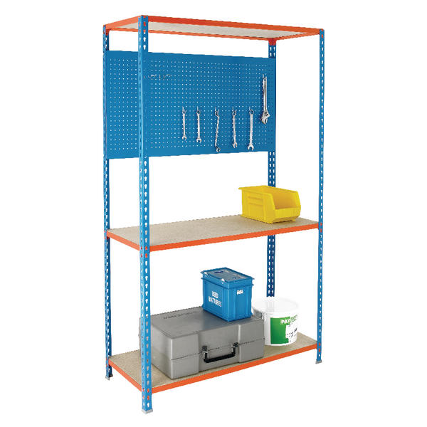 Shelving/Hanging 900X400mm Blue Panel