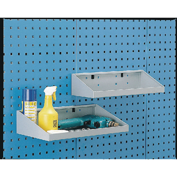 Perfo System Grey 450X250mm Tool Shelf