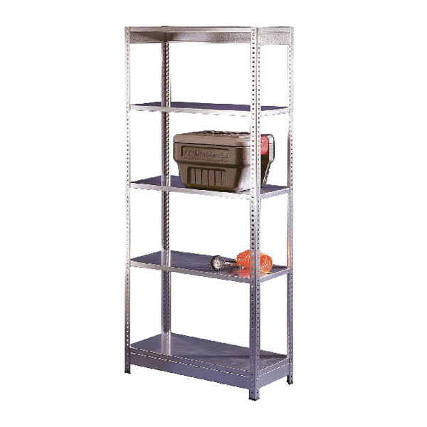 Orange/Zinc Galv 2400x600mm Extra Shelf