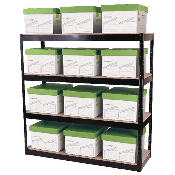 Storage Solutions Boltless 4 Shelf Unit
